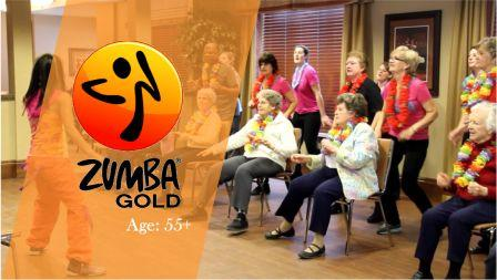 Zumba Gold  Get grooving  at your own pace. This easy-to-follow program is  an invigorating d0bae77ea